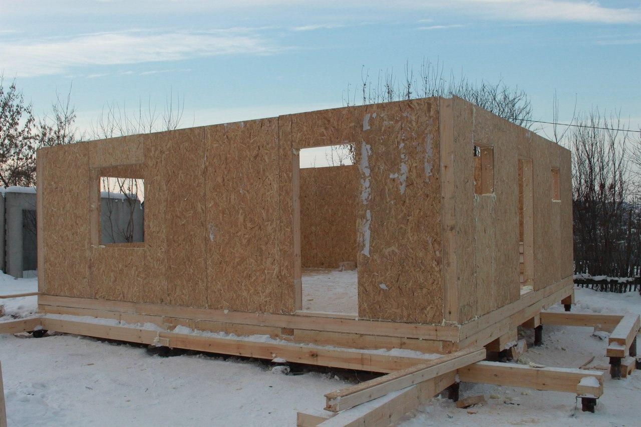 Строительство дома на 5ой Заречной, 150 м кв, мансардный этаж