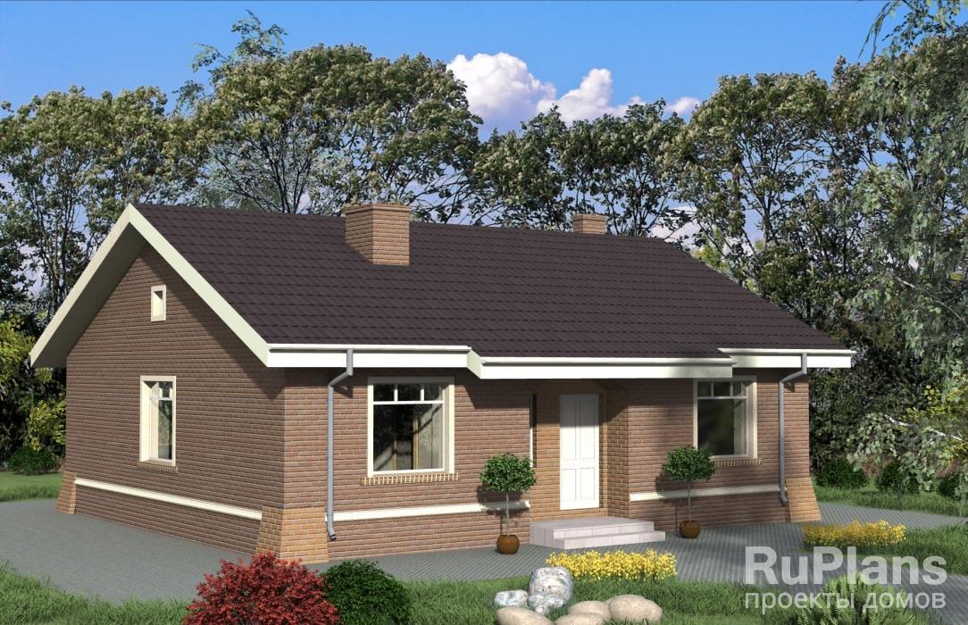 Проект загородного дома Rg4850