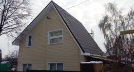 Строительство дома в Омске