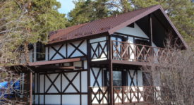 Каркасный 2-х этажный дом