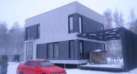 Строительство дома в Омской области