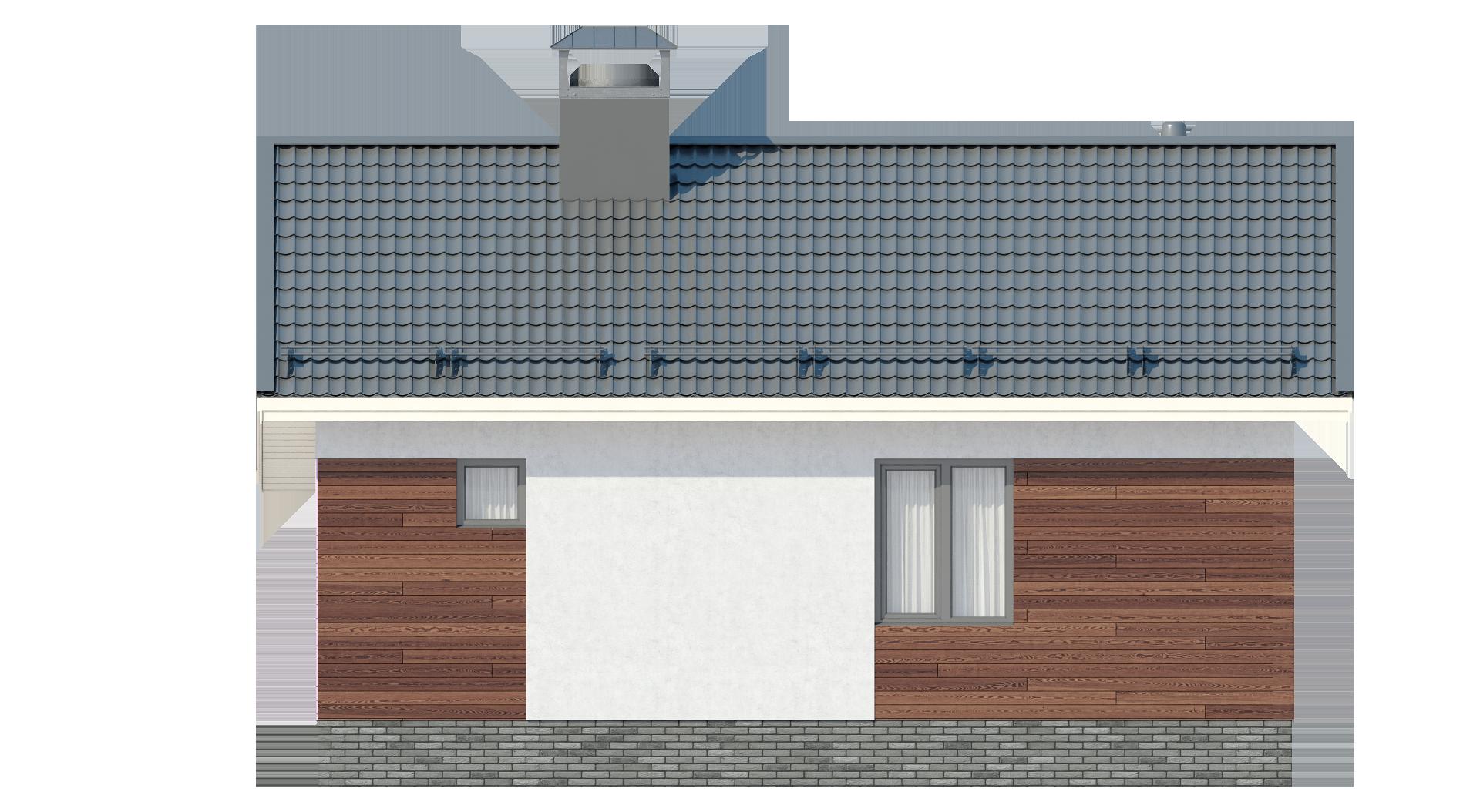 Одноэтажный дом А19026
