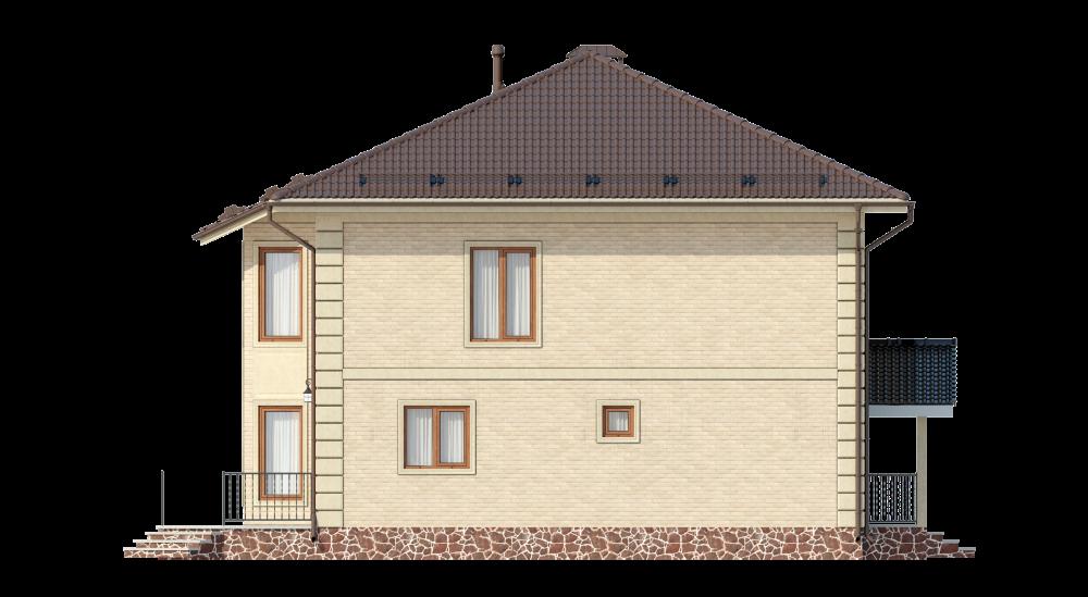 Двухэтажный дуплекс с террасой А19027